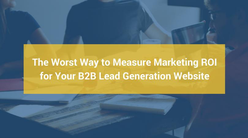 lead generation marketing roi