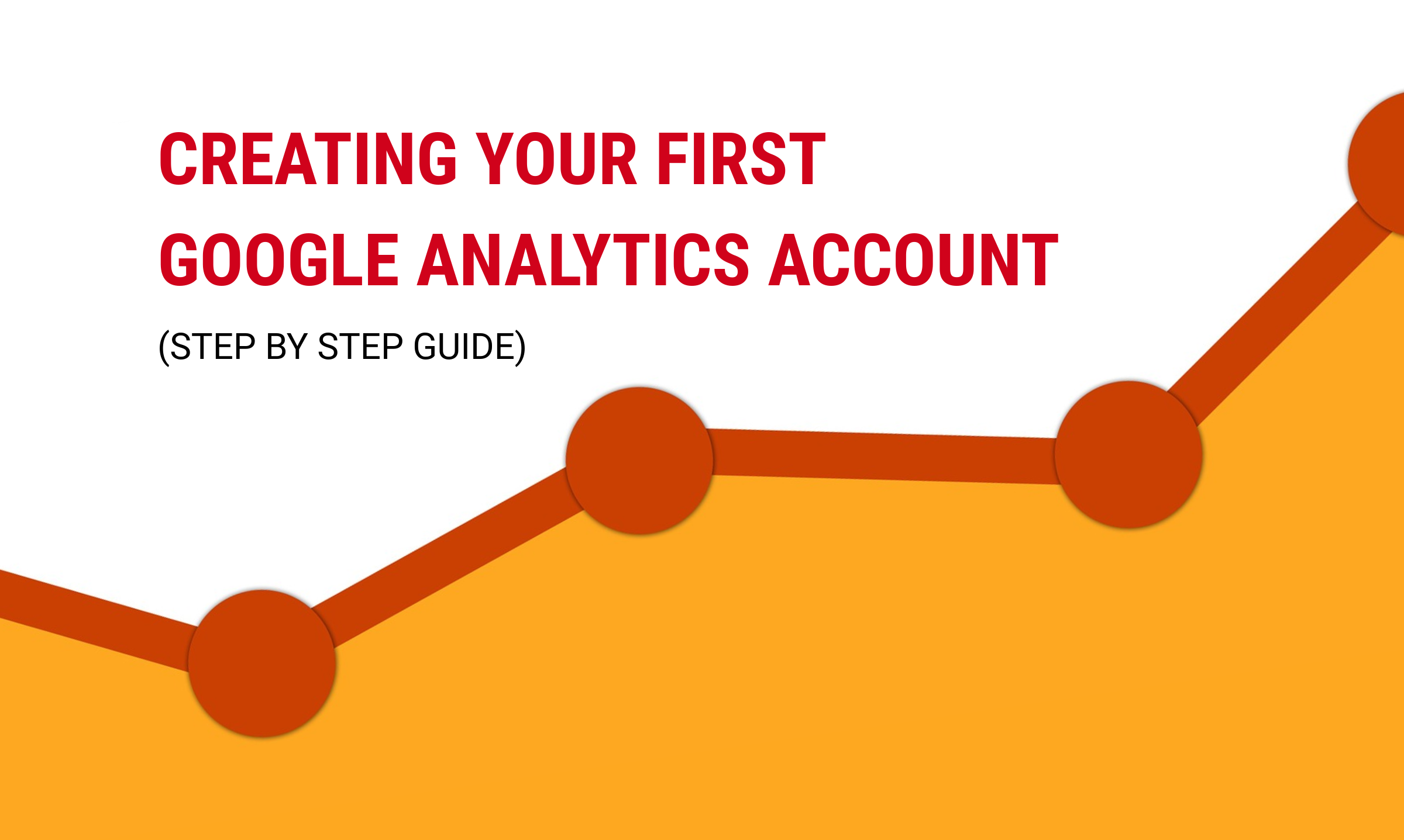 How to create your first Google Analytics account step by step